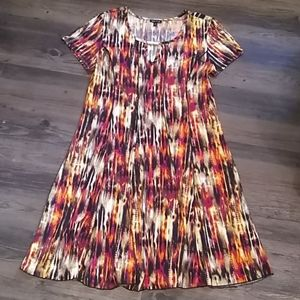 Sami & Jo Fit & Flare Dress Size XL